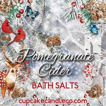 Pomegranate Cider Donut Bath Salts