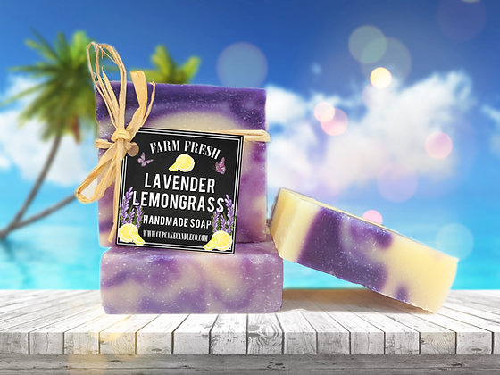 Lavender Lemongrass Luxury Soap