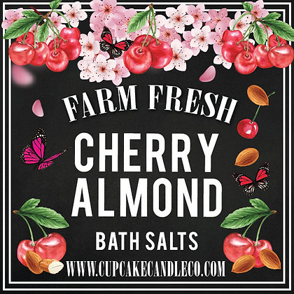 Cherry Almond Bath Salts