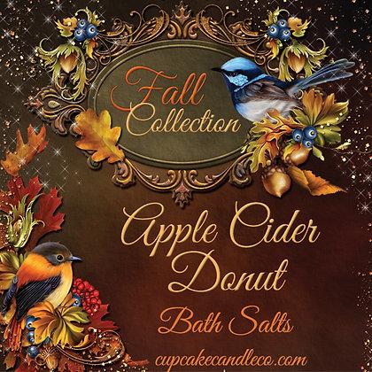 Apple Cider Donut Bath Salts