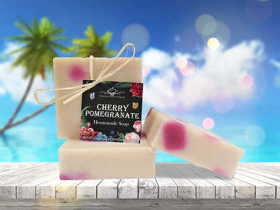 Cherry Pomegranate Luxury Soap