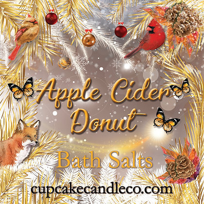 Apple Cider Donut Bath Salts