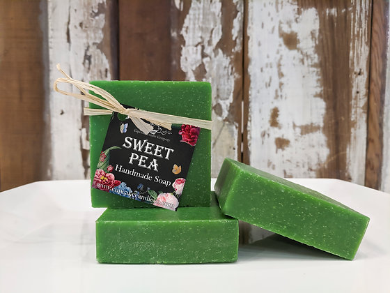 Sweet Pea Luxury Soap