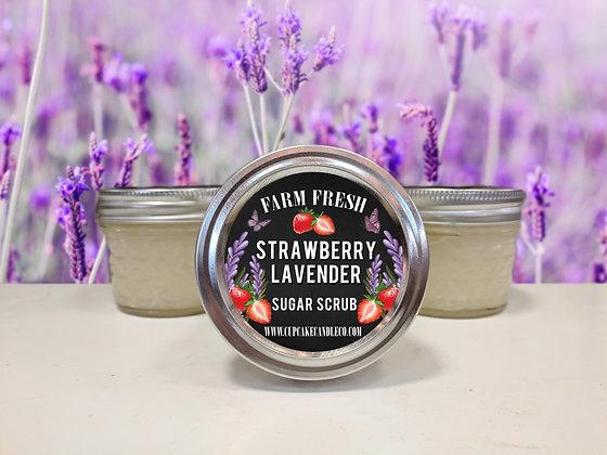 Strawberry Lavender Sugar Scrub