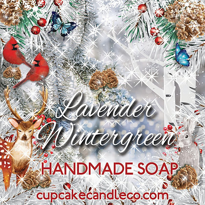 Lavender Wintergreen Luxury Soap