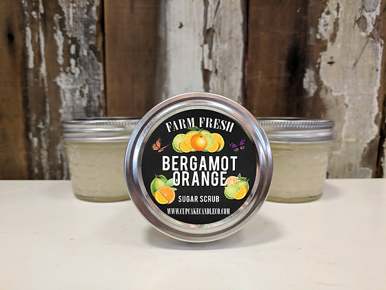 Bergamot Orange Sugar Scrub
