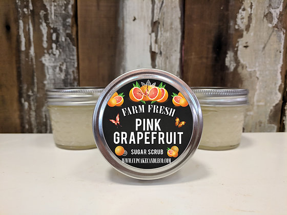 Pink Grapefruit Sugar Scrub