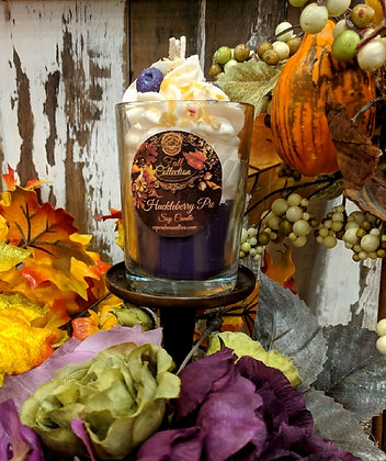 Huckleberry Pie Drink Candle