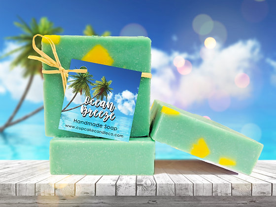 Ocean Breeze Luxury Bar Soap