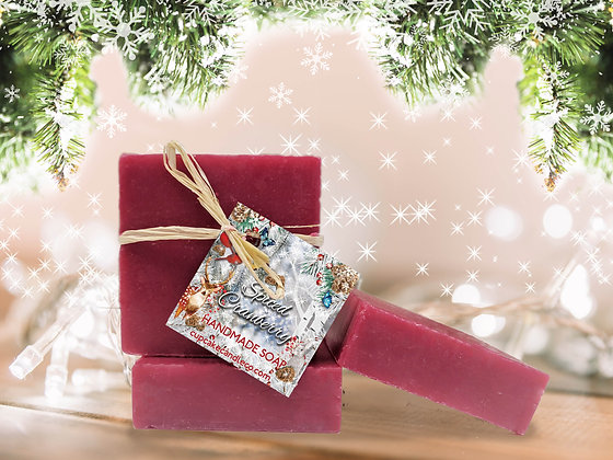 Spiced Cranberry Luxury Soap