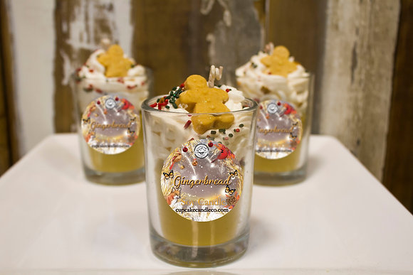 Gingerbread Drink Candle
