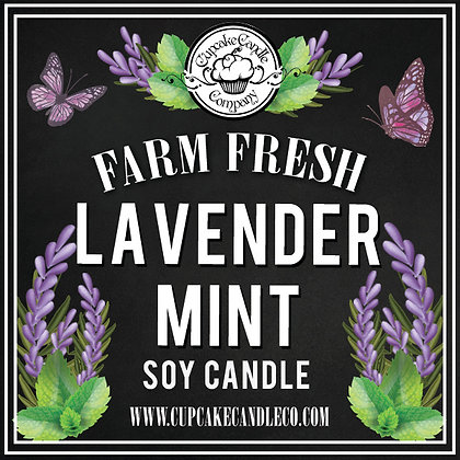 Lavender Mint Drink Candle