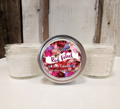 Red Velvet Small Jar Candle