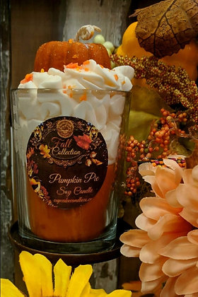 Pumpkin Pie Soy Drink Candle