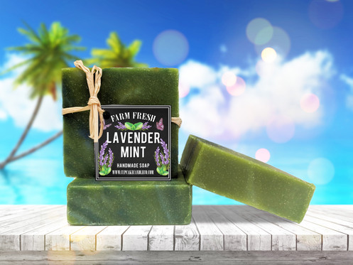 Lavender Mint Luxury Soap
