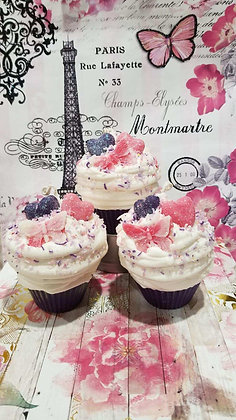 Sweethearts Cupcake Soy Candle