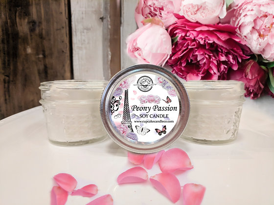 Peony Passion Jar Candles