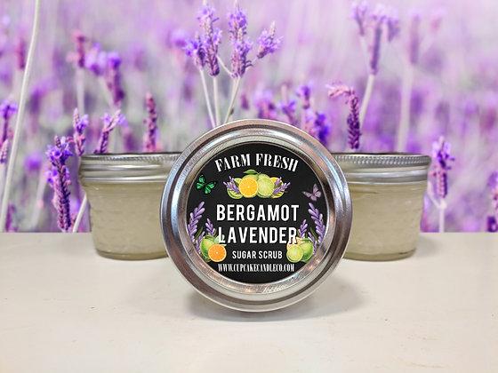 Bergamot Lavender Sugar Scrub