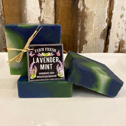 Lavender Mint Luxury Soap