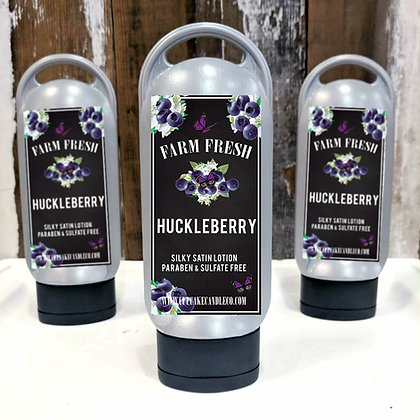Huckleberry Lotion