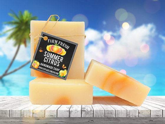 Summer Citrus Luxury Soap