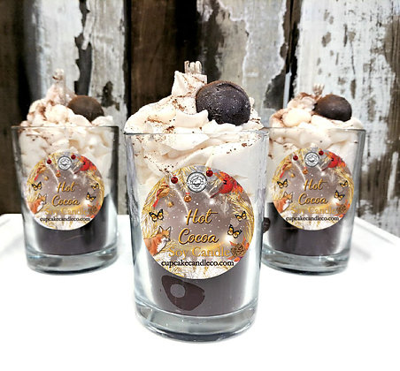 Hot Cocoa Drink Candle