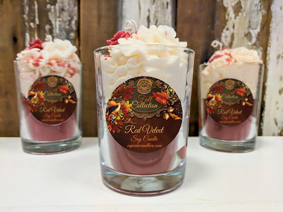 Red Velvet Drink Candle