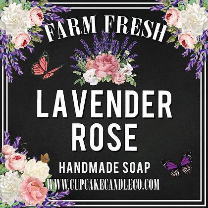 Lavender Rose Luxury Soap