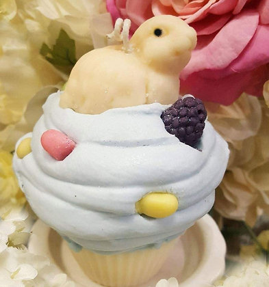 Bunny Patch Soy Cupcake Candle