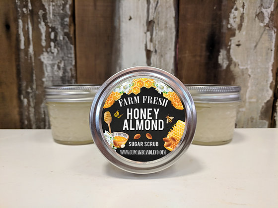 Honey Almond Sugar Scrub