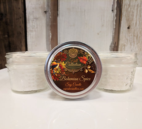 Bohemian Spice Small Jar Candle