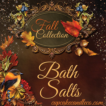 Fall Collection Bath Salts
