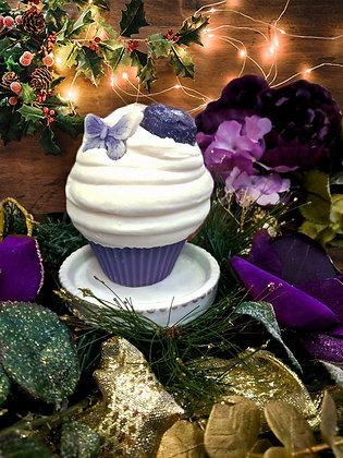 Sugar Plum Cupcake Candle