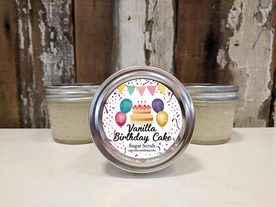 Vanilla Birthday Cake Sugar Scrub