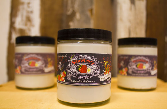 Strawberry Lavender Body Frosting