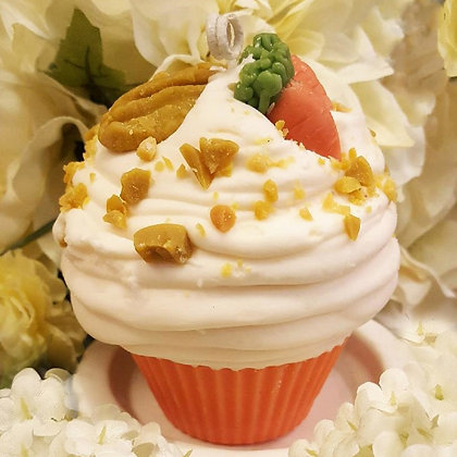 Carrot Cake Soy Cupcake Candle