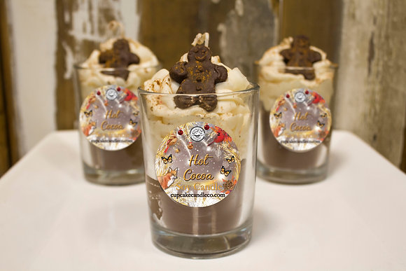 Hot Cocoa Gingerbread Drink Candle