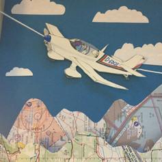 Diorama Flugzeug Closeup