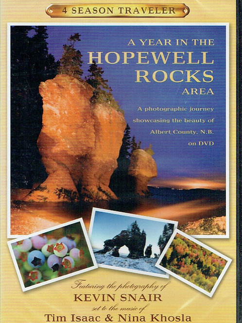 A year in the Hopewell Rocks Area