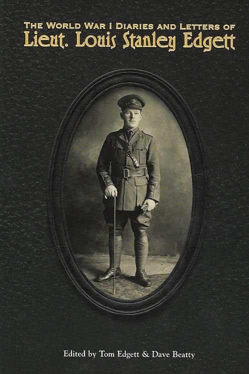 World War I Diaries and Letters of Lieut. Louis Stanley Edgett