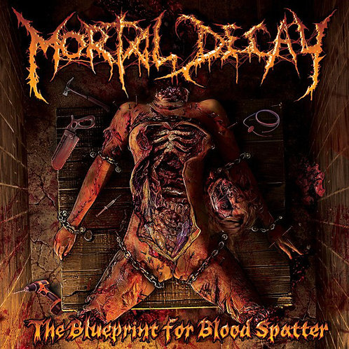Mortal Decay ‎– The Blueprint for Blood Spatter