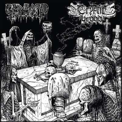 Graveyard Ghoul / Cryptic Brood – The Graveyard Brood