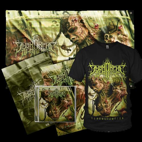 "Dysmorphic Demiurge ""Derealization"" BUNDLE #2 (CD+T-Shirt+Poster+Flag)"
