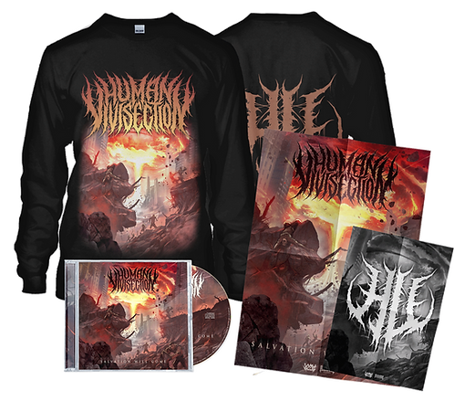 Human Vivisection - Salvation Will Come (CD + Longsleeve)
