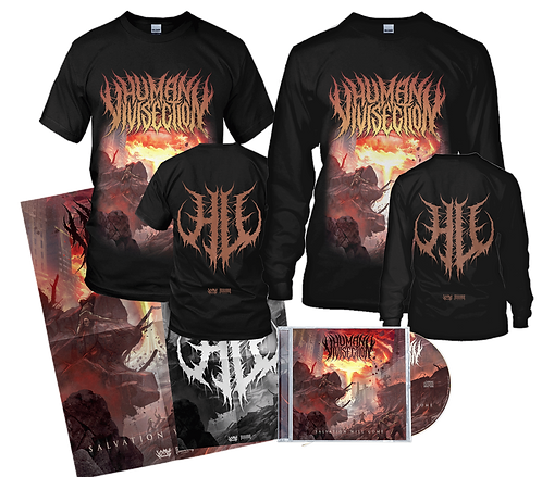 Human Vivisection - Salvation Will Come (CD + T-Shirt + Longsleeve)