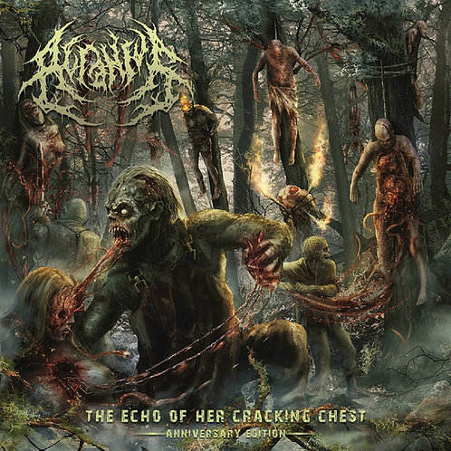 Acranius ‎– The Echo of her cracking Chest (Anniversary Edition)