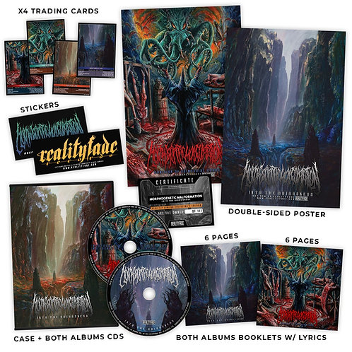 Morphogenetic Malformation – Into The Odiousness - 2 CD Collector's Edition