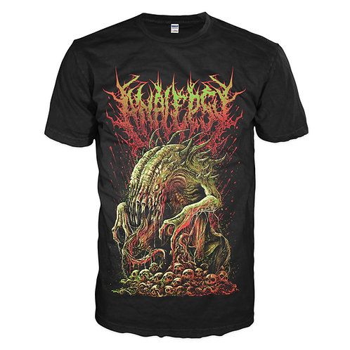 "Analepsy - ""Retching Defacement"" T-shirt"