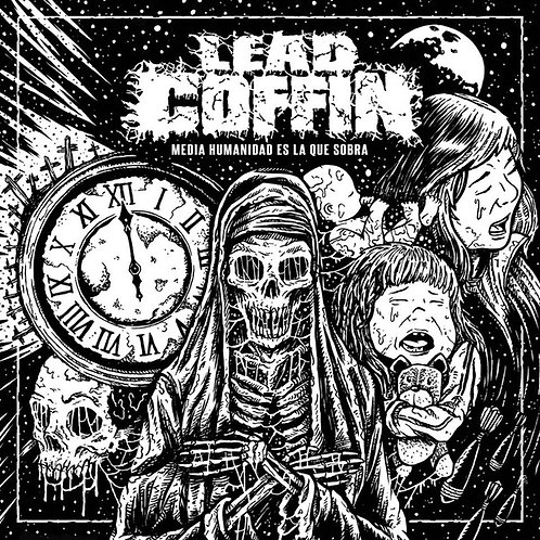 Lead Coffin ‎– Media Humanidad es la que Sobra