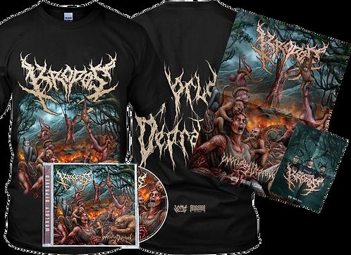 Kropos - Worldly Depraved (CD + T-Shirt)